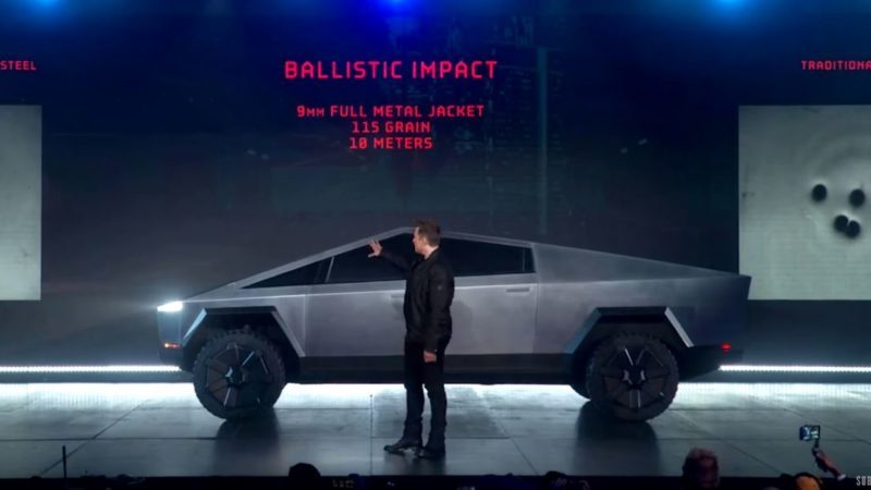 Tesla präsentiert seinen neuen Cybertruck: Startpreis 39.900$