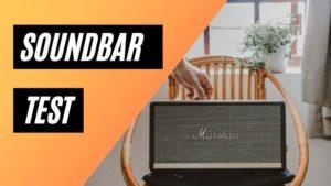 soundbar test
